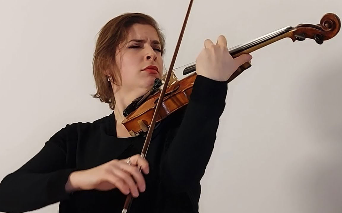 """""""Guided Violin Practice"""" Our past winners guide you through important violin repertoire."""